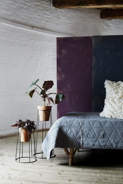 Madam Stoltz - Aksamitna narzuta na łóżko