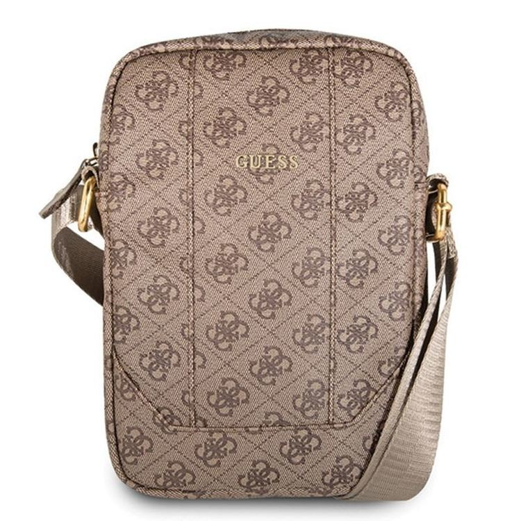 Guess 4G Uptown Tablet Bag - Torba na tablet 10 (brązowy)