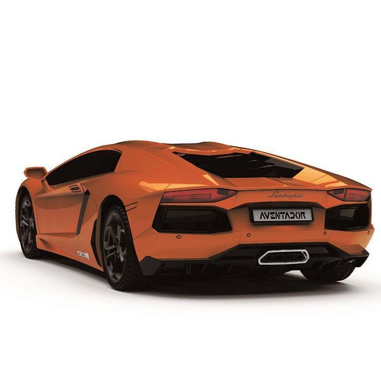Lamborghini Aventador Sterowany radiowo samochód w skali 1:24 pomarańczowy