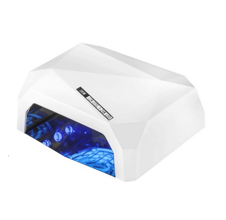 LAMPA UV DO PAZNOKCI LED DIAMOND 36W SENSOR TIMER