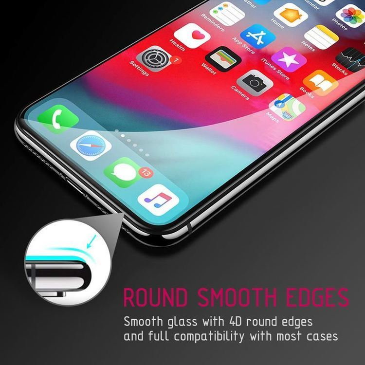 Crong Edge Glass 4D Full Glue - Szkło hartowane na cały ekran Samsung Galaxy S10