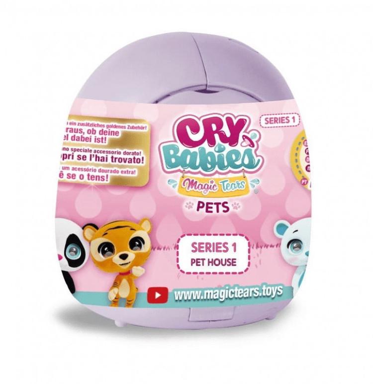 Laleczki Cry Babies Pet House Zwierzaki do kolekcjonowania
