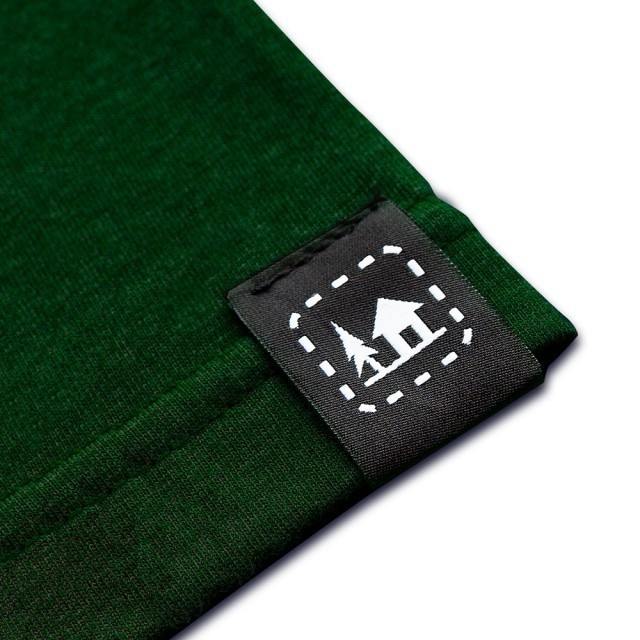 Koszulka męska ŁOŚ zielona   S