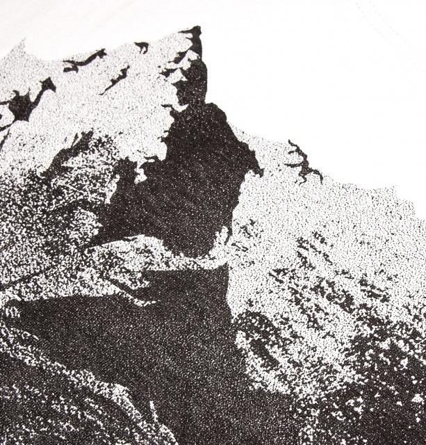 Koszulka damska TATRY/DOLINA GĄSIENICOWA biała M