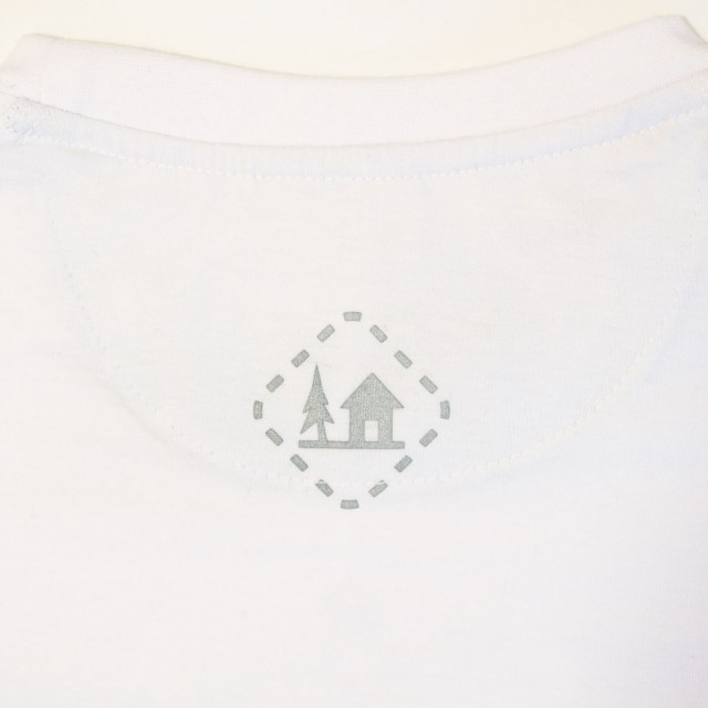 Koszulka damska SZWENDAM SIĘ/NAMIOT biała XS