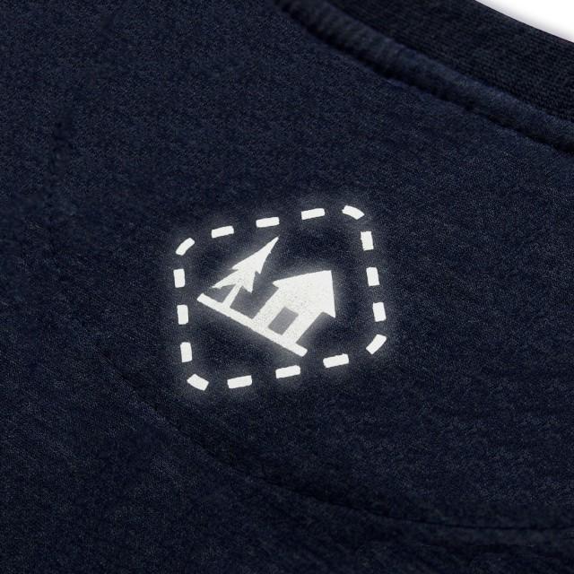 Koszulka męska ZDOBYWCA granatowa XL