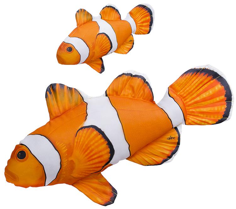 Gaby Maskotka Poduszka Błazenek Nemo 32cm
