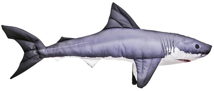 Gaby Maskotka Poduszka Rekin żarłacz Mini 35cm