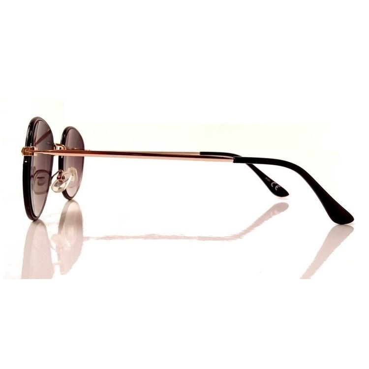 Okulary lenonki owalne KOST 3131 - CZARNE