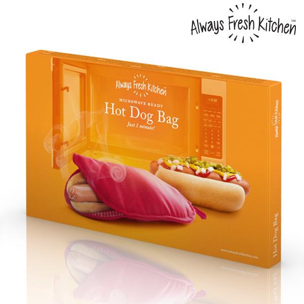 Torebka do Przygotowania Hot Dogów w Mikrofalówce Always Fresh Kitchen