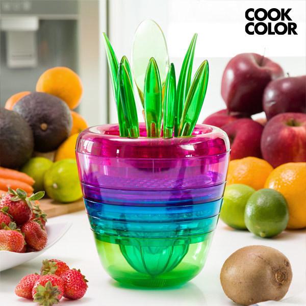 Wieżowe Akcesoria Kuchenne Multi Tool Fruit Cook Color