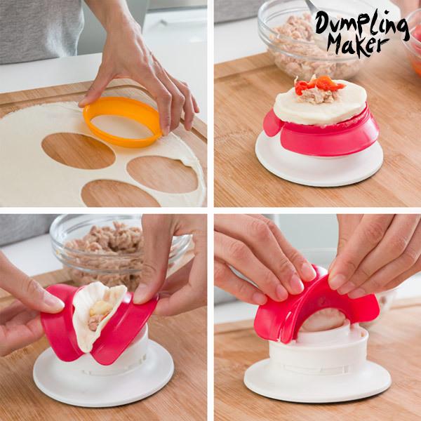 Forma do Pierogów i Makaronów z Nadzieniem Fast & Easy Dumpling Maker