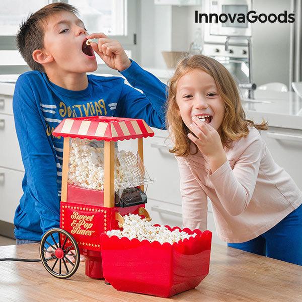 Maszynka do Popcornu Sweet & Pop Times InnovaGoods 1200W Czerwona