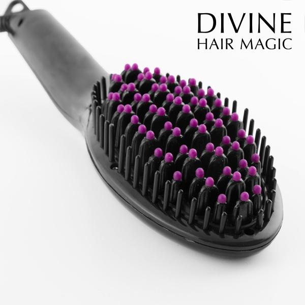 Elektryczna Szczotka Prostująca do Włosów Brushture