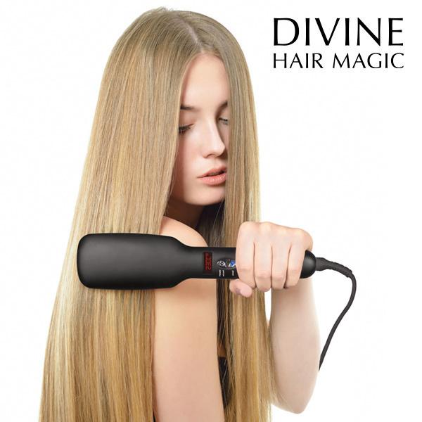 Elektryczna Szczotka Prostująca do Włosów Iondict Divine Hair Magic