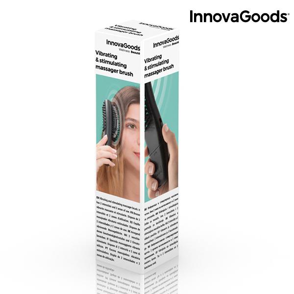 Szczotka do Włosów z Masażem Wibracyjnym InnovaGoods