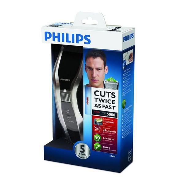 Maszynka do Włosów Philips HC5450/16 Series 5000 Hairclipper 90 min
