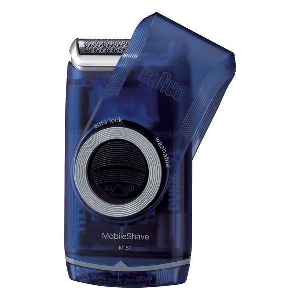 Maszynka do Golenia Braun M 60B MobileShave PocketGo