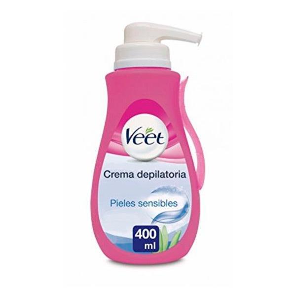 Krem do Depilacji z Dozownikiem Veet 400 ml Skóra Wrażliwa