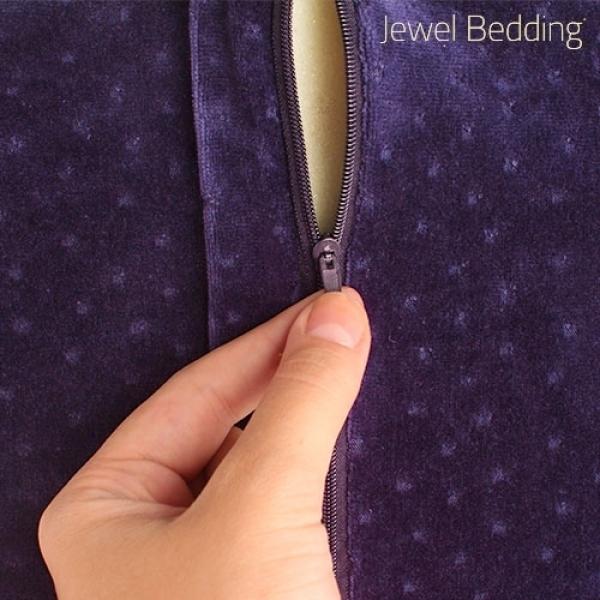 Poduszka z Gąbki z Pamięcią Jewel Bedding z Pokrowcem