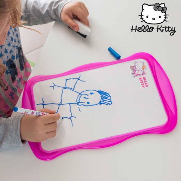 Dwustronna Biała Tablica Hello Kitty