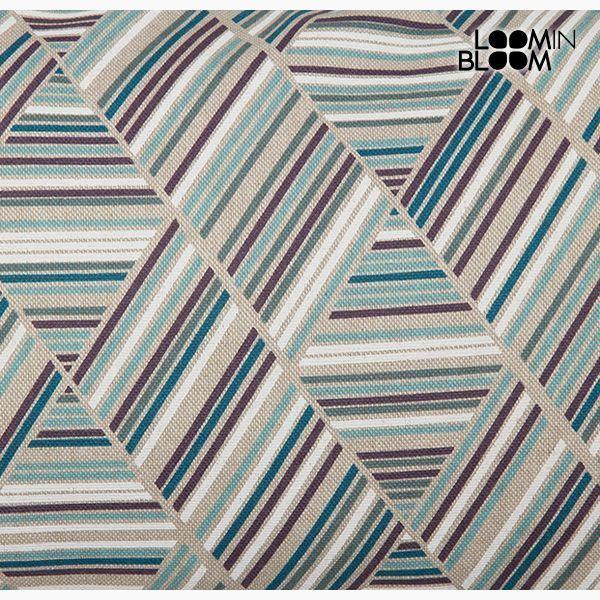 Poduszka Bawełna i poliester Niebieski (30 x 50 x 10 cm) by Loom In Bloom