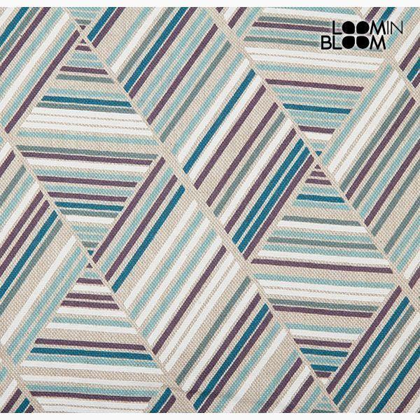 Poduszka Bawełna i poliester Niebieski (50 x 70 x 10 cm) by Loom In Bloom
