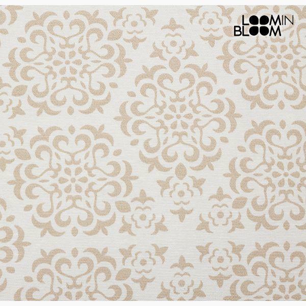 Poduszka Bawełna i poliester Beżowy (45 x 45 x 10 cm) by Loom In Bloom