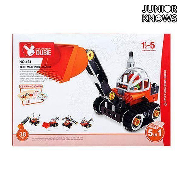 Construction set Junior Knows 1266 (38 pcs)