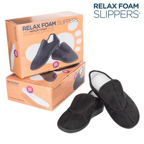 Kapcie z Pianką Zapamiętującą Kształt Relax Foam