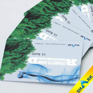 Karta Blove Shark redukująca skutki uboczne palenia papierosów