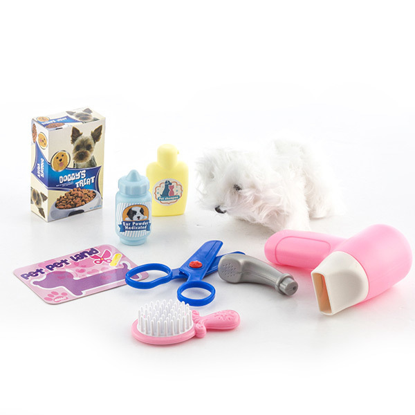 Zestaw Fryzjerski dla Zwierząt Domowych z Akcesoriami