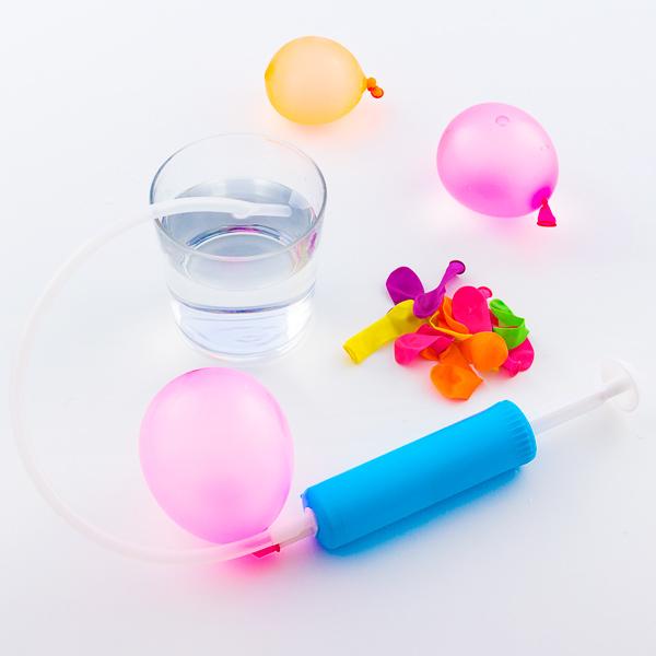 Balony Wodne z Pompką Napełniającą (zstaw 30 sztuk)