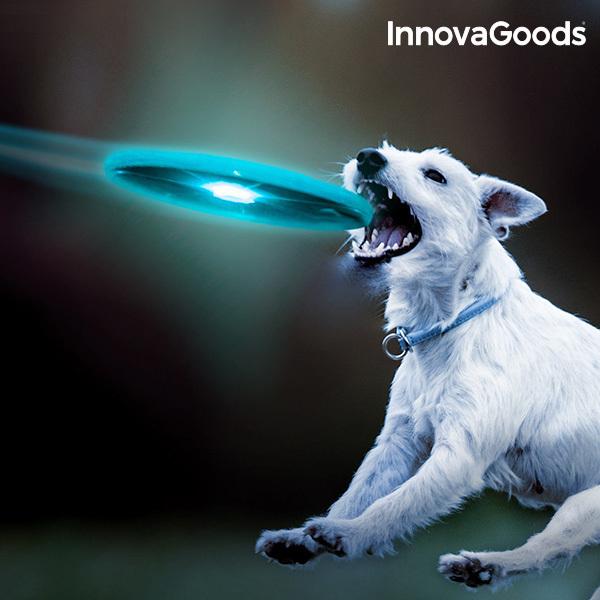 Frisbee z Kolorową Lampką LED InnovaGoods