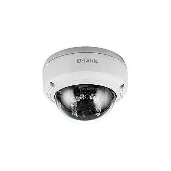 Aparat Fotograficzny IP D-Link DCS-4603 Domo FHD PoE (H/V/D): 96° / 54° / 108° Zoom 10x Biały