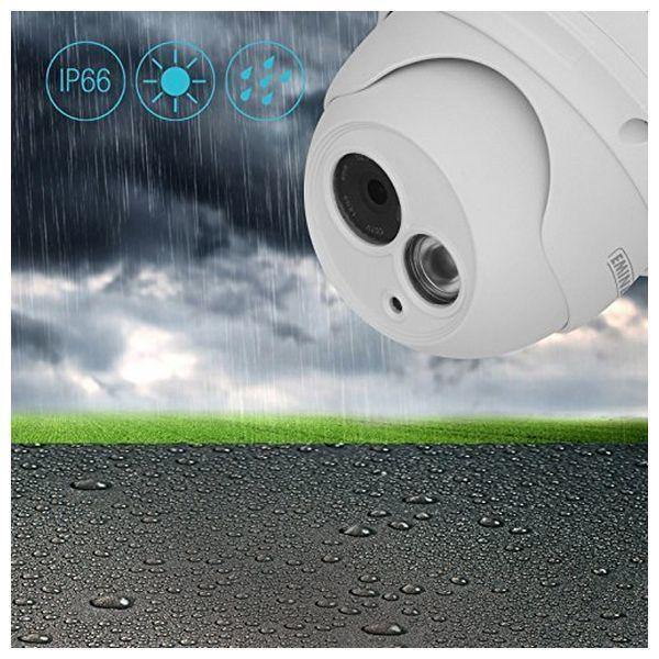 External IP Camera Eminent EM6360 HD 720 70° IR LED Zoom 3x iOS Android Biały