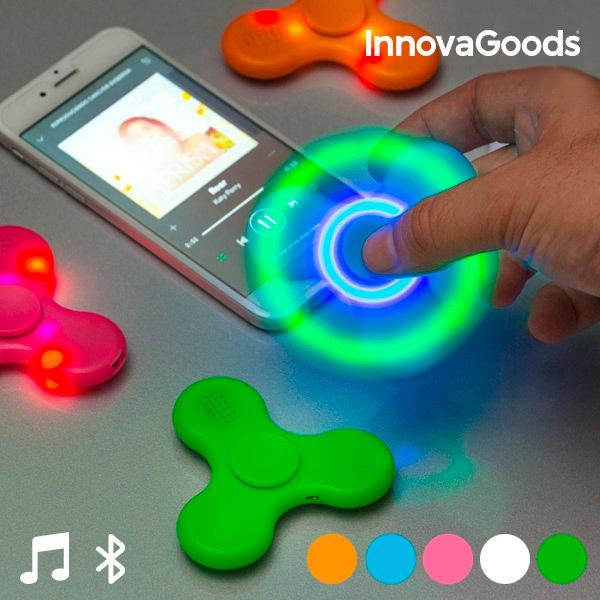 Spinner LED z Głośnikiem i Bluetooth InnovaGoods