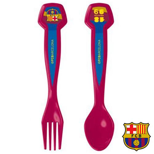 Zestaw Sztućców z logiem FC Barcelony (2 sztuki)