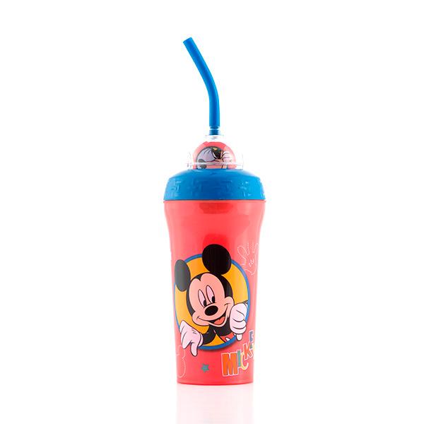 Kubek Mickey i Goofy ze Słomką