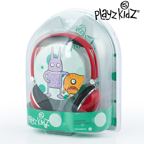 Słuchawki Potworki Playz Kidz