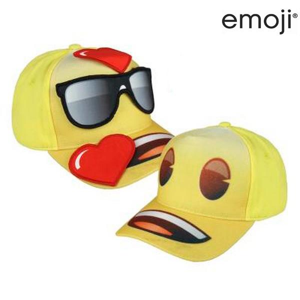 Czapka z daszkiem dziecięca Emoji 517