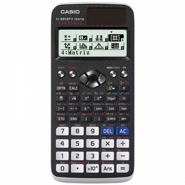 Kalkulator Casio 222685 LCD Czarny Plastikowy