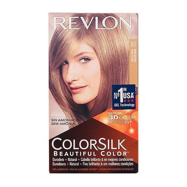 Farba bez Amoniaku Colorsilk Revlon Ciemny blond