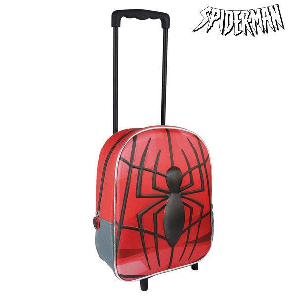 Plecak szkolny 3D z kółkami Spiderman 8010