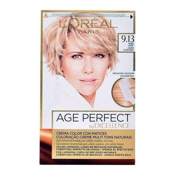 Trwała Koloryzacja Przeciwstarzeniowa Excellence Age Perfect L'Oreal Expert Professionnel Blond