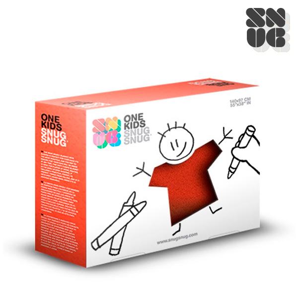 Super Miękki Koc dla Dzieci z Rękawami Snug Snug