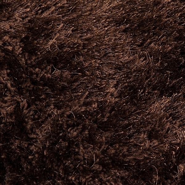 Dywan Poliester Jedwab Brązowy (170 x 240 x 8 cm) by Loom In Bloom