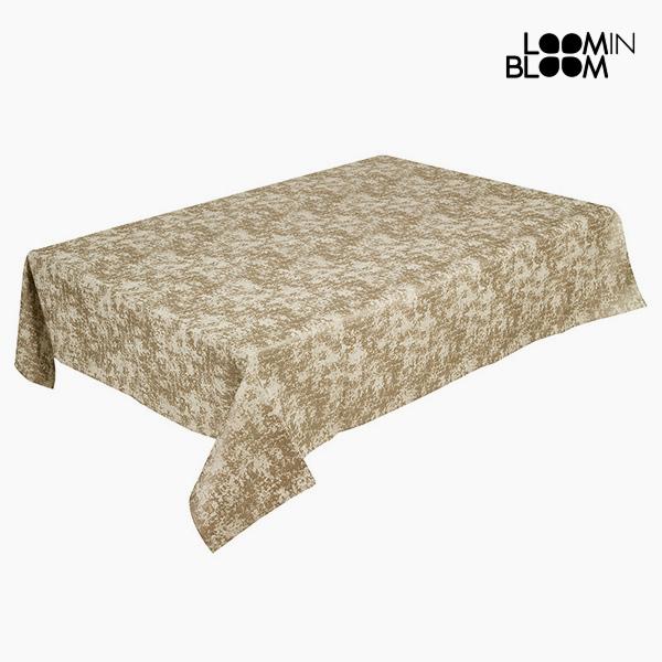 Obrus Szampan (135 x 200 x 0,05 cm) by Loom In Bloom
