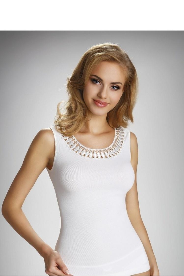 Bluzka Model Olinea Ecru - Eldar