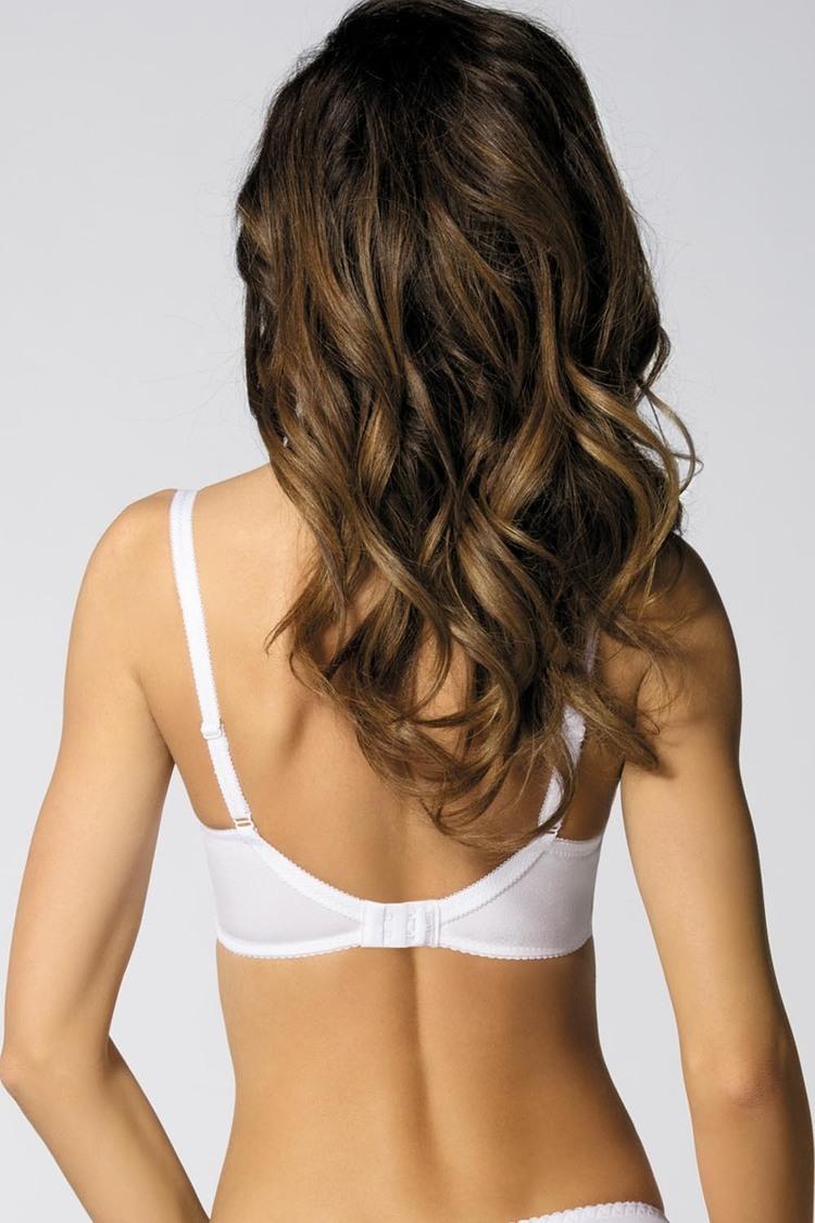 Biustonosz Soft Model Pamela/B2 White - Gorteks